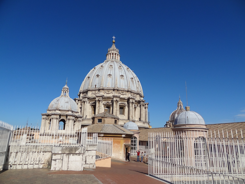 Climbing the Cupula of Saint Peter's Basilica