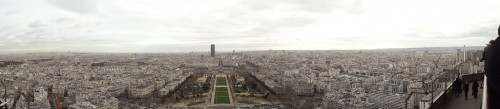 Paris panoramic photos