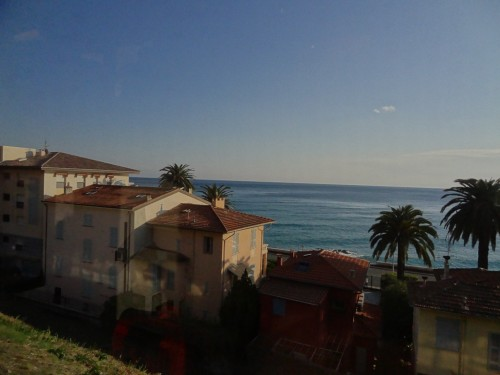 A year ago I moved to Antibes